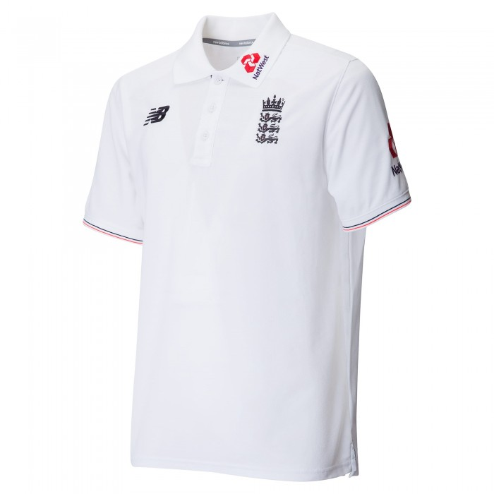 ECB NB Media Polo White