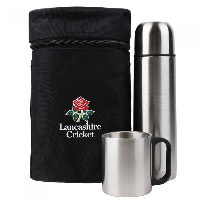 Thermal Flask Bottle Set