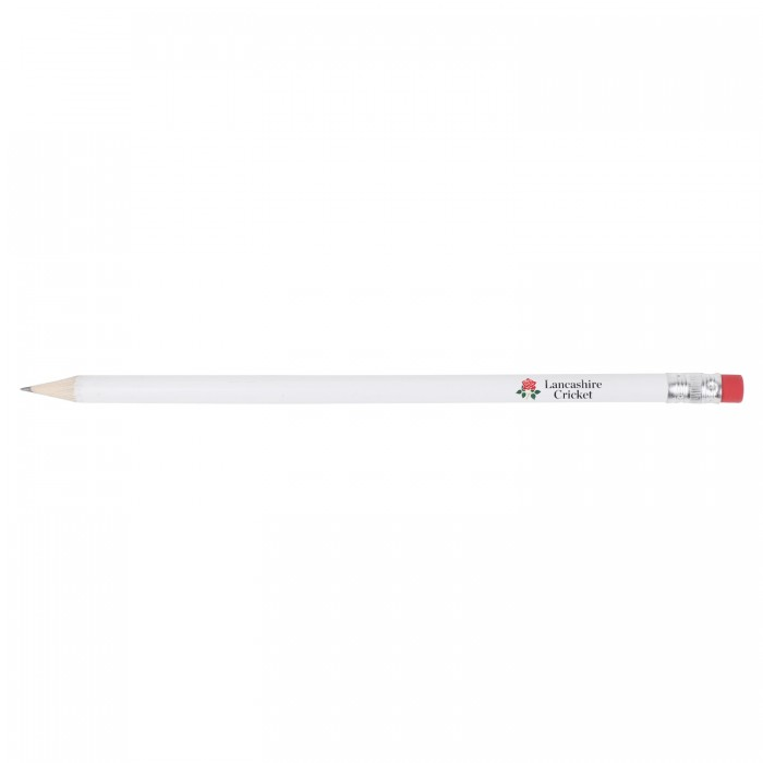 Red Rose Pencil with Eraser