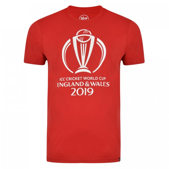 CWC19 Mens Logo Tee - Red