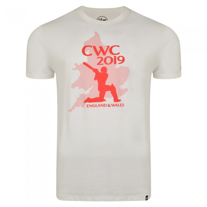 CWC19 Mens Swing Tee - White