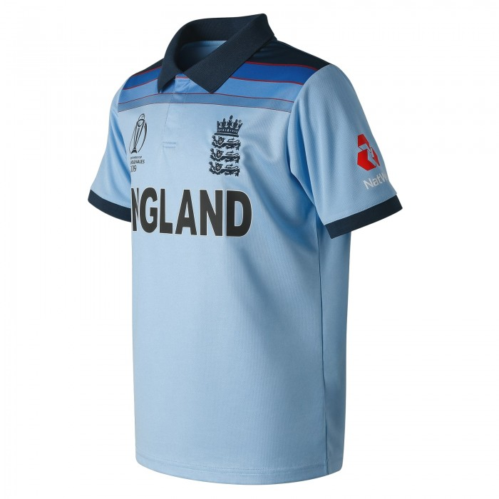 ECB NB Replica SS We Are England WC19 ODI Polo yth
