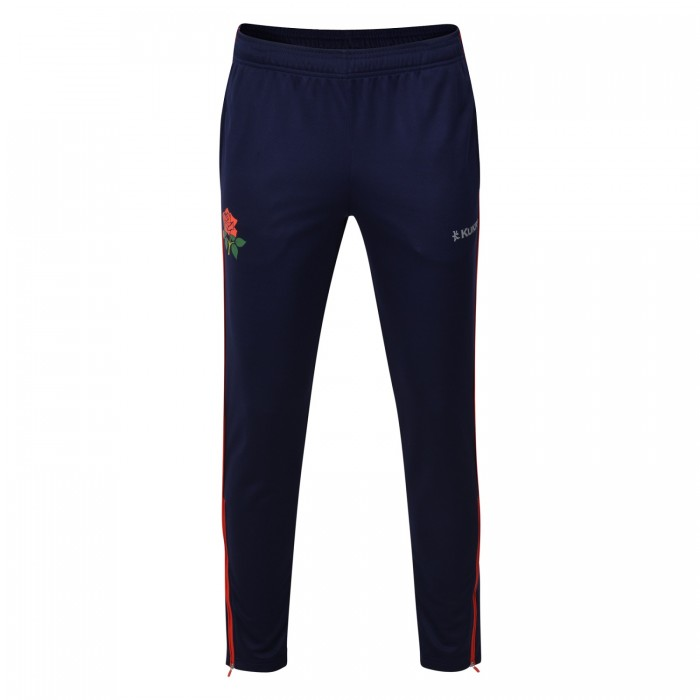 LC19 Knitted Tapered Track Bottoms Navy