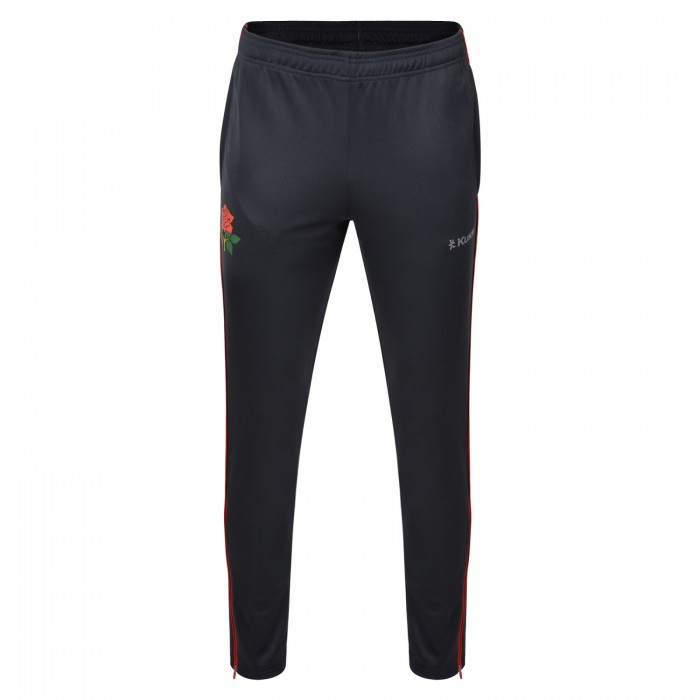 LC19 Knitted Tapered Track Bottoms Asphalt Youth