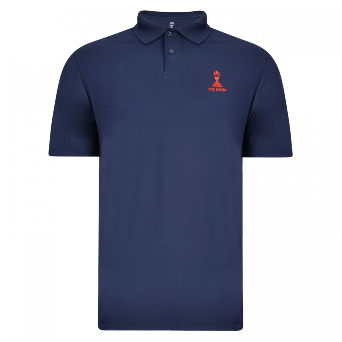 Ashes Urn Cotton Pique Polo Navy