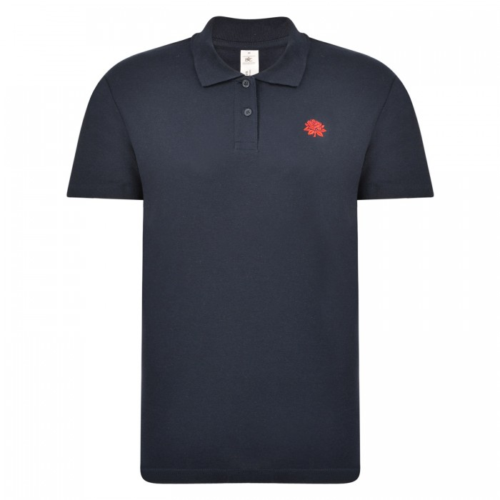 Lancashire Ladies Pique Polo Navy