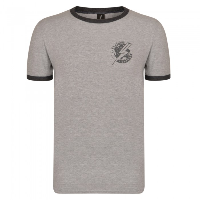 Lightning T-Shirt Grey
