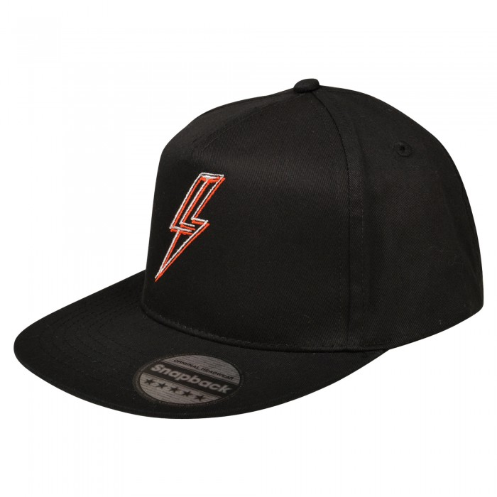 Youth Lightning Snapback Black Cap