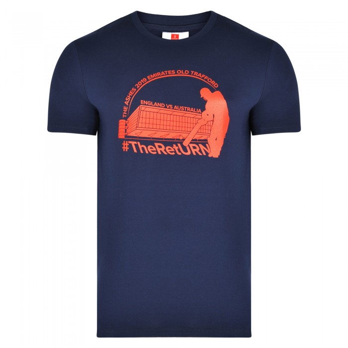 Old Trafford Ashes T-shirt Navy