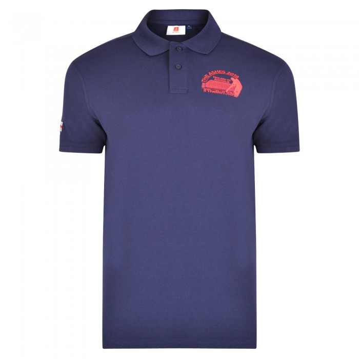 Old Trafford Ashes Polo Navy