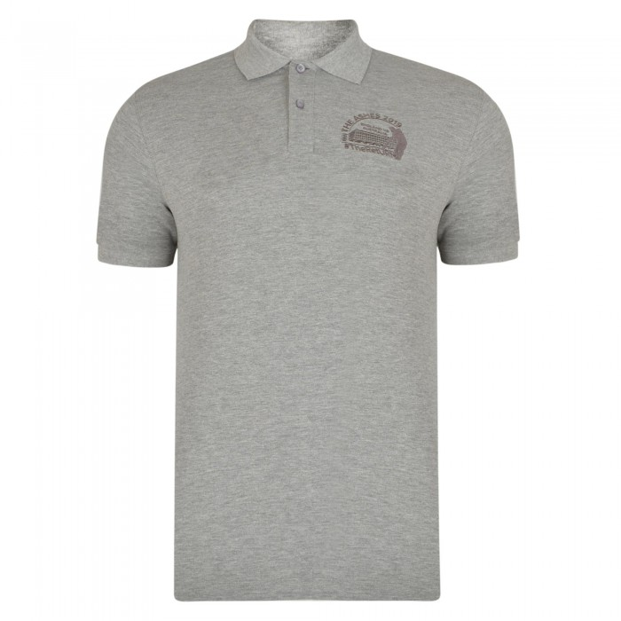 Old Trafford Ashes Polo Grey