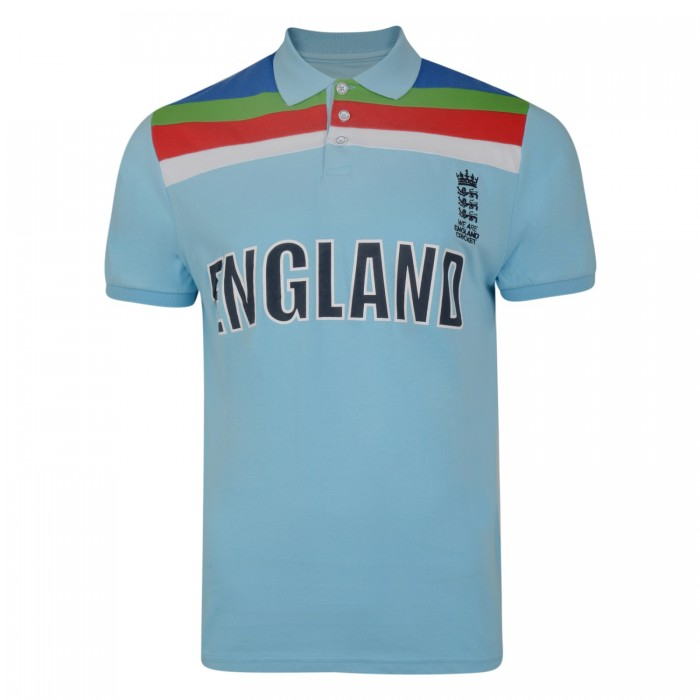 ECB Men's Retro Polo