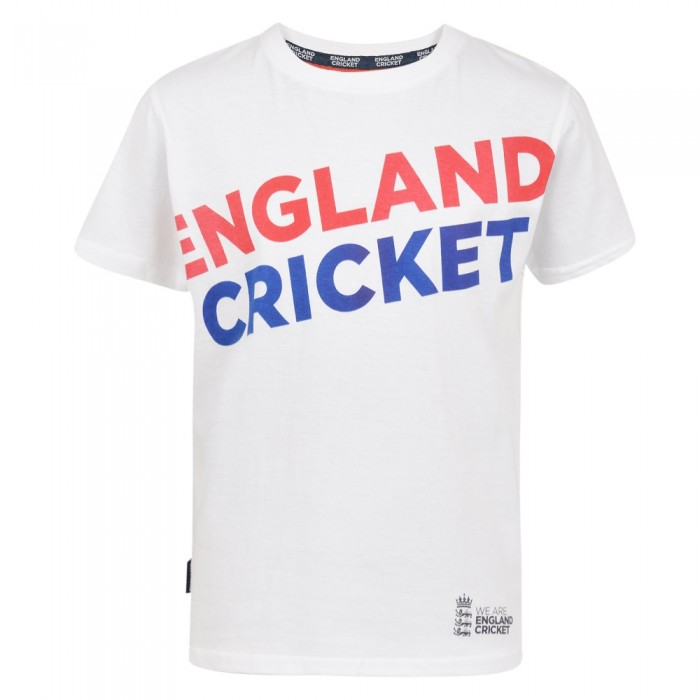 ECB Kids England Cricket Tee